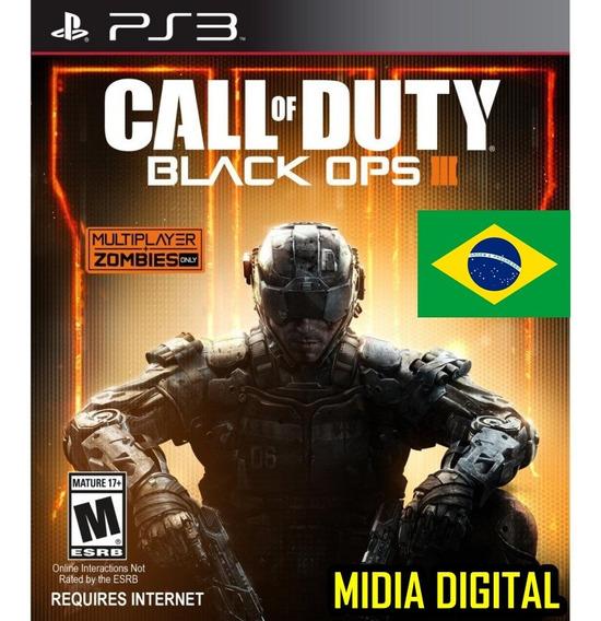 Call Of Duty Black Ops 3 + Black Ops 1 Ps3 Jogo Tiros Guerra Ação Aventura Digital Psn Barat Promoção Envio Imediato!