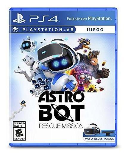 Juego Astro Bot: Rescue Mission Para Playstation 4 Nuevo