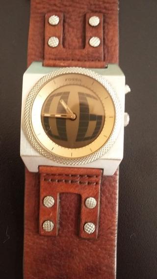 Relógio Fóssil R$800,00 Bracelete, Analógico Min Digital Led