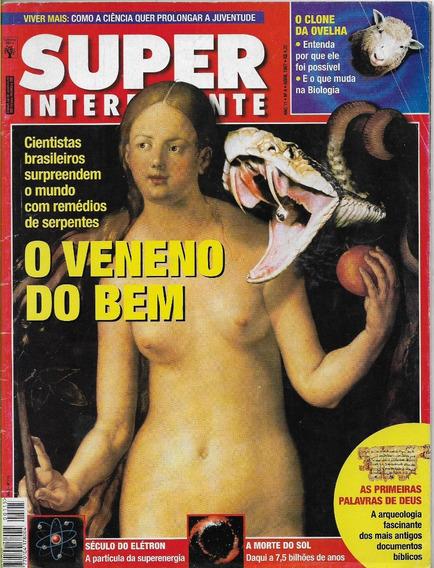 Super Interessante Nº 115 - Abril 97 - Veneno Cobras Remédio