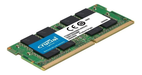 Memoria Ram 4gb Ddr4 2666mhz Crucial Ct4g4sfs8266 Notebook
