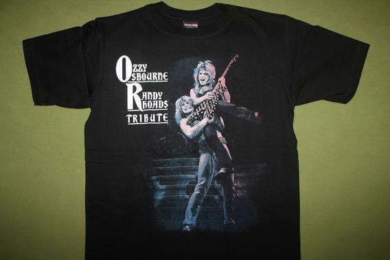 Gusanobass Playera Rock Metal Ozzy Randy Tribute Ch