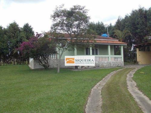 Chácara Com 4 Dormitórios À Venda, 3200 M² Por R$ 700.000,00 - Sapetuba - Iperó/sp - Ch0025