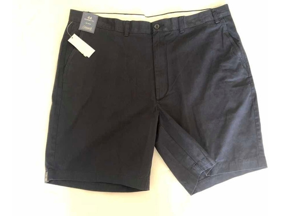 Shorts Casual Playa Negro Big Men Tallas Extra Cargo 44