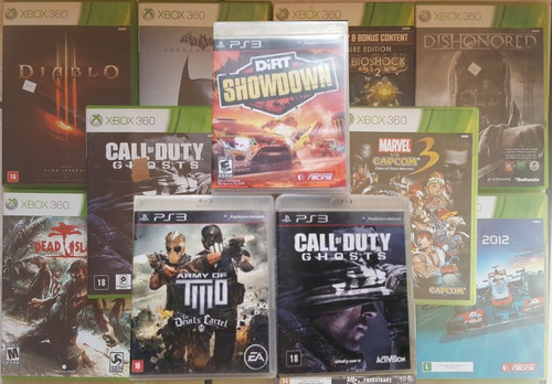 Jogos Originais De Xbox 360 E Ps3