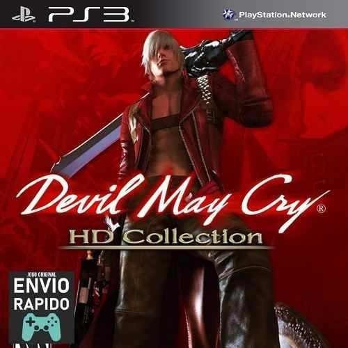 Devil May Cry Hd Collection - 3 Jogos - Jogos Ps3 Original