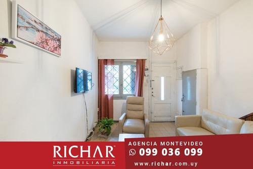 Casa Ph Buceo Sur Venta 1 Dormitorio Jardin Con Renta