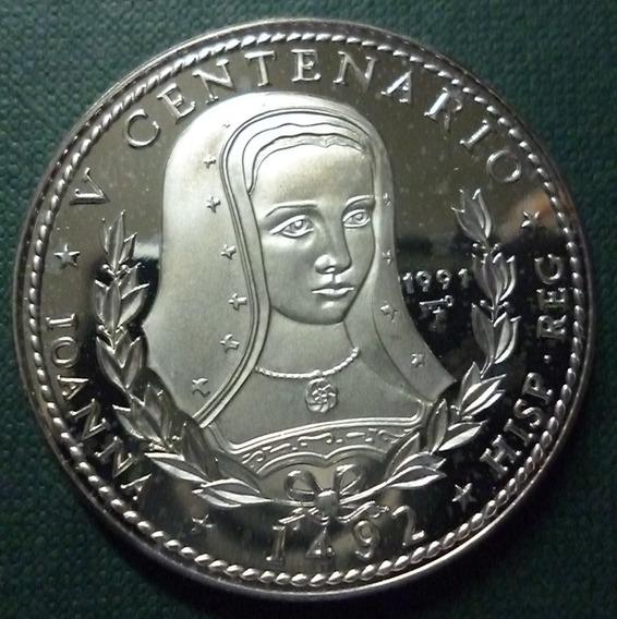 Cuba Moneda De Plata 10 Pesos Prf 1991 - Juana La Loca