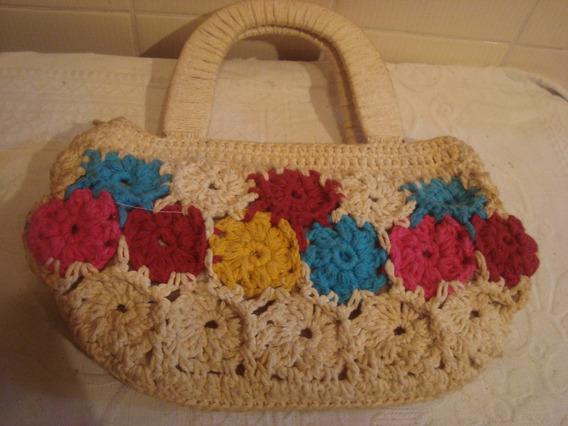 Bolsa De Mão Em Croche