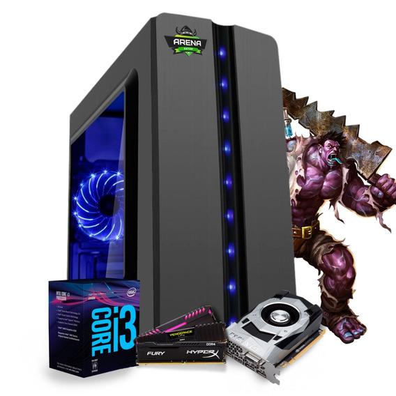 Pc Gamer I3 8100 Z370m Aorus Gaming Gtx 1060 6gb Mem 16gb