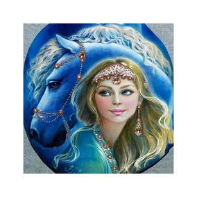 Beleza Animal Cavalo Diy 5d Diamante Bordado Pintura Ponto C