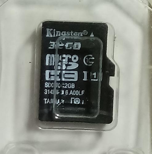 Cartão De Memória Kingston Sdcs Sd 32gb Com Nota Fiscal