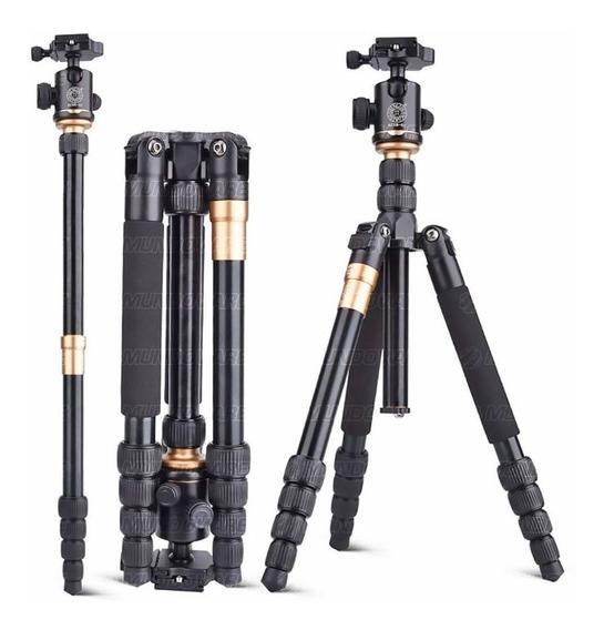Tripé Profissional Para Fotógrafo 160cm Altura Suporta 10kg
