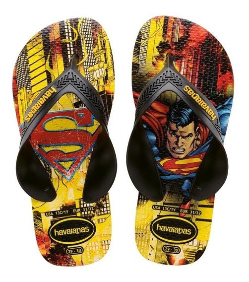 Ojotas Havaianas Niños Max Herois Superman Nene Local Envio