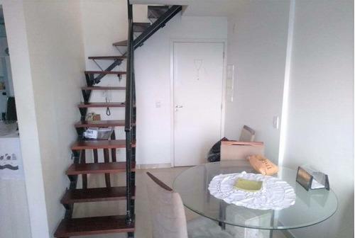 Imagem 1 de 15 de Cobertura Duplex Na Vila Prudente Com 2 Dorms Sendo 1 Suíte, 2 Vagas, 110m² - Co0313