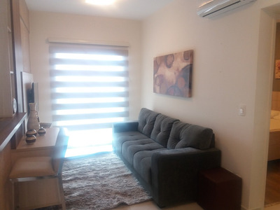 Apartamento 1 Dormitório Mobiliado No Gonzaga Santos