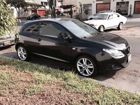 Seat Ibiza 2012, Coupe Negro, Hatchback, Vendo/cambio