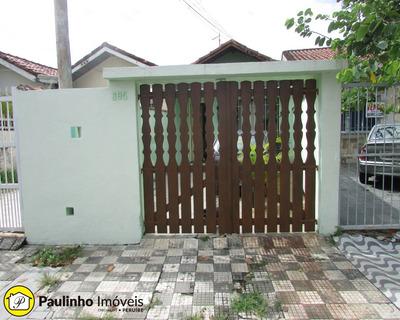 Casa Térrea A Venda Com Edícula No Centro Da Cidade De Peruíbe - Ca03129 - 33706875