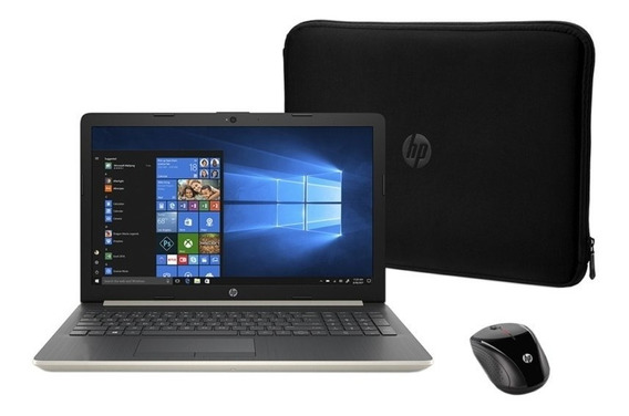 Notebook Hp 15-db0082wm E2 1.5ghz 4gb 500gb 15.6 Capa Mouse