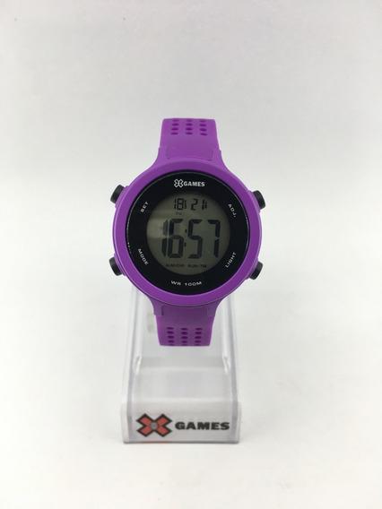 Relógio De Pulso X-games Infantil Ref:xfppd073