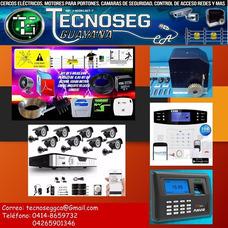 Cámaras -alarmas - Cerco Eléctrico - Motores - Informática