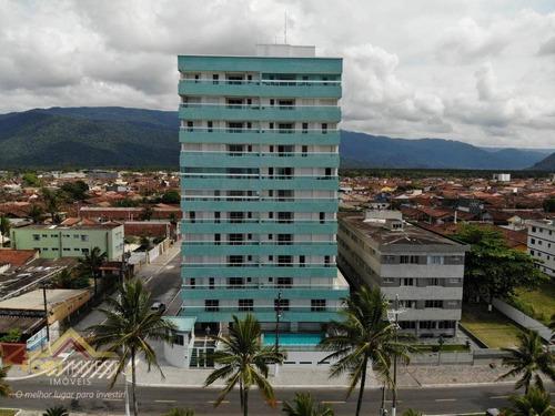 Imagem 1 de 13 de Apartamento Com 2 Dormitórios À Venda, 76 M² Por R$ 415.000,00 - Balneário Flórida - Praia Grande/sp - Ap2734
