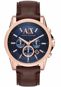 0fc70cada5be Reloj Armani Exchange Cafe en Mercado Libre México