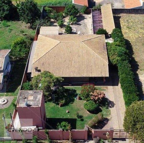 Imagem 1 de 30 de Imob02 - Chácara 1000 M² - Venda - 3 Dormitórios - 1 Suíte - Altos Da Bela Vista - Indaiatuba/sp - Ch0086