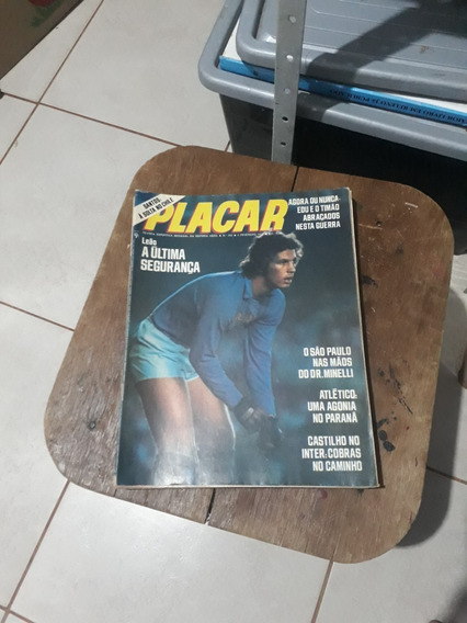 Pacote Placar 9 Revistas Antigas E Raras