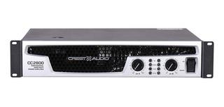 Potencia Crest Cc2800 Stereo 2800 Watts Speakon Sale%