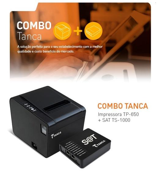 Combo Sat Fiscal Tanca Ts-1000 + Impressora Não Fiscal Térmi