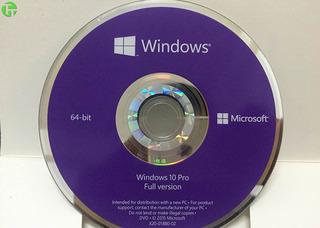 Licencia Windows 10 Professional Original 1 Pc