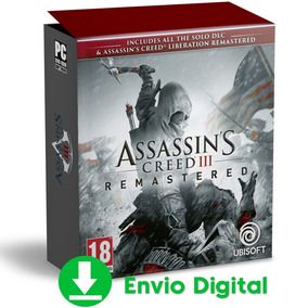 Assassins Creed 3 Pc Remastered Todas Dlcs Brinde Português