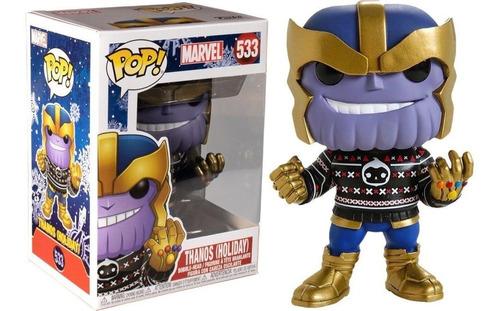 Figura Funko Pop Marvel - Thanos (holiday) 533 Original
