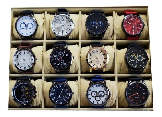 Kit C/ 10 Relógios