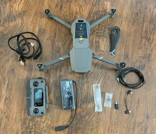 Dji Mavic Pro Platinum 4k Camera Quadcopter
