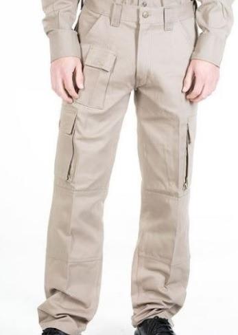 Pantalon Cargo Marca Gaucho , Color Beige