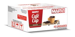Cafécup Xícara Comestíveis - Marvi 60und