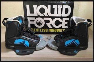 Botas De Wakeboard Liquid Force Index Seminuevas!!! Lpa!!!