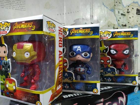 Funko Pop,ironman-capitan America-spiderman,3x20