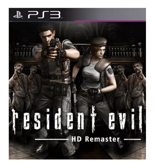 Resident Evil 1 Hd - Jogos Ps3 Playstation 3