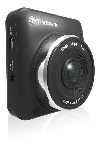 Dashcam Transcend Drivepro 200 Com Suporte E Microsd 16gb