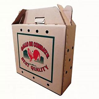 Kit 10 Cajas Transportadora Para Gallo Alamazonas