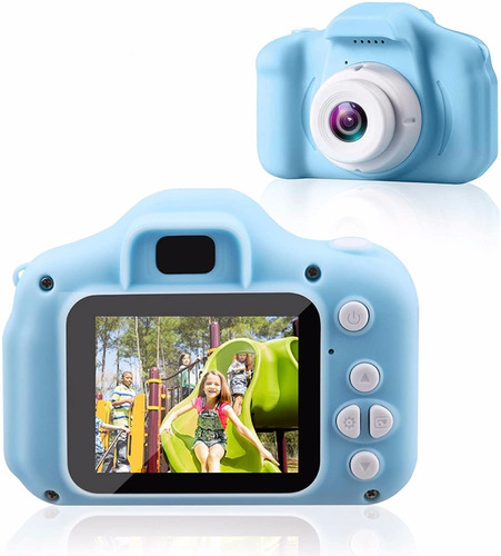 Camara Digital Niños Uso Rudo Fullhd 1080p Fotos + Video