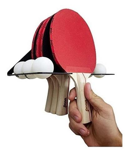 Soporte Pared Paleta Y Pelota De Ping Pong Diseño Nayres.ar