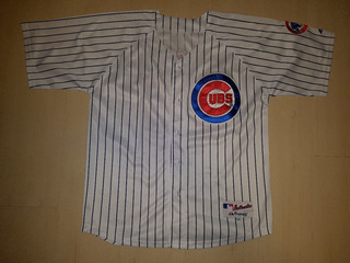 Camisa Chicago Cubs Baseball Authentic Majestic Athletic