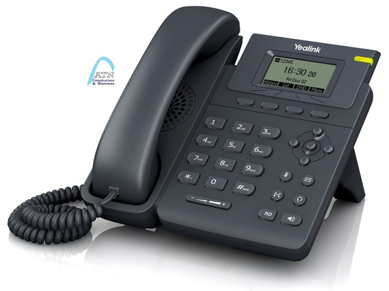 Telefono Ip Yealink T19 E2, Sin Poe, Centrales Asterisk
