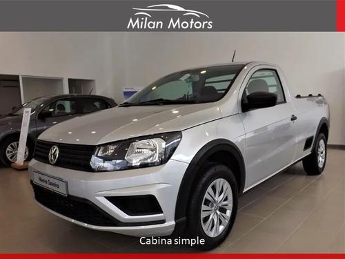 Volkswagen Saveiro 0km Financio Entrega Desde Usd 6900 !!