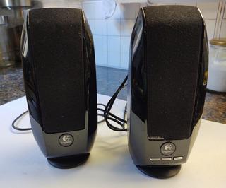 Parlante Digital Logitech S-150 Usb - Estereo - Negro
