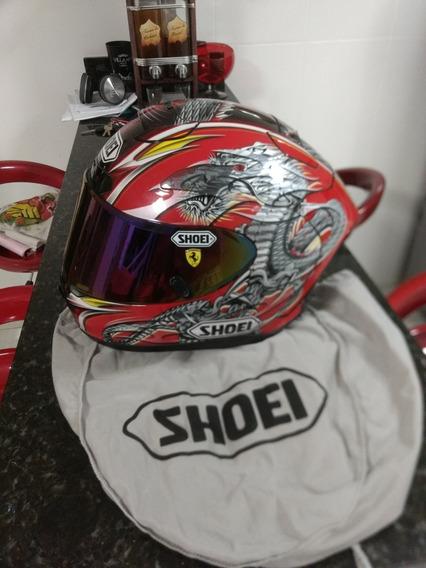 Capacete Shoei X12 Kiyonari Vermelho